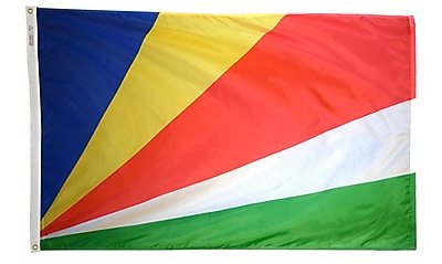 Annin Flagmakers Seychelles Flag, 4 x 6 ft., Nylon (197284)