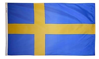 Annin Flagmakers Sweden Flag, 4 x 6 ft., Nylon (197988)