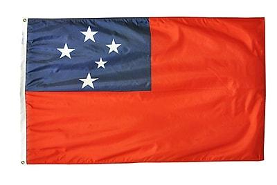 Annin Flagmakers Western Samoa Flag, 4 x 6 ft., Nylon (197158)