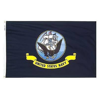 Annin Flagmakers U.S. Navy Military Flag, 3 x 5 ft., Nylon (439030)