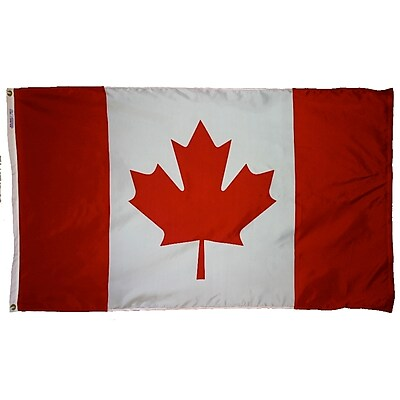Annin Flagmakers Canada Flag, 4 x 6 ft., Nylon (191340)
