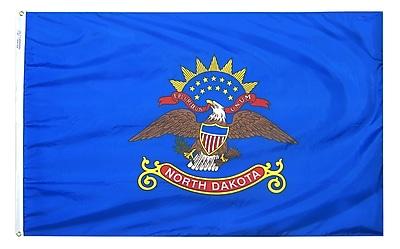 Annin Flagmakers North Dakota State Flag, 3 x 5 ft., Nylon (144160)