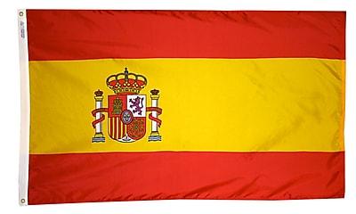 Annin Flagmakers Spain Flag, 3 x 5 ft., Nylon (197819)
