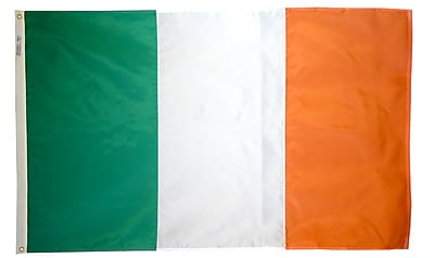 Annin Flagmakers Ireland Flag, 3 x 5 ft., Nylon (193926)