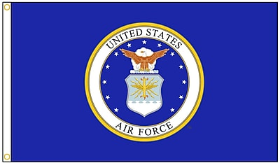 Annin Flagmakers U.S. Airforce Military Flag, 3 x 5 ft., Nylon (439010)