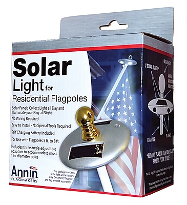 Annin Flagmakers Flagpole LED Solar Light (2804)