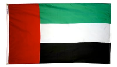 Annin Flagmakers United Arab Emirates Flag, 4 x 6 ft., Nylon (198794)