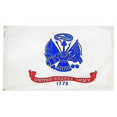 Annin Flagmakers U.S. Army Military Flag, 4 x 6 ft., Nylon (439021)