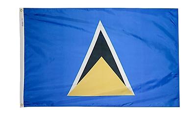Annin Flagmakers St. Lucia Flag, 4 x 6 ft., Nylon (197228)