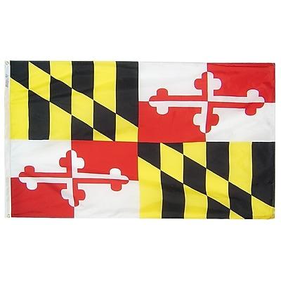 Annin Flagmakers Maryland State Flag, 4 x 6 ft., Nylon (142370)