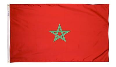 Annin Flagmakers Morocco Flag, 4 x 6 ft., Nylon (195851)