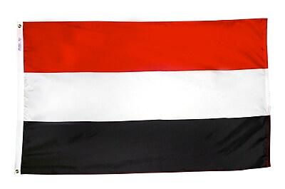 Annin Flagmakers Yemen Flag, 4 x 6 ft., Nylon (199336)