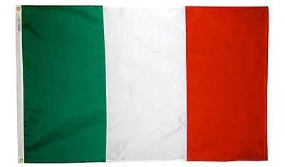 Annin Flagmakers Italy Flag, 4 x 6 ft., Nylon (194000)