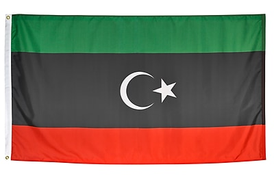 Annin Flagmakers Libya Flag, 4 x 6 ft., Nylon (194949)