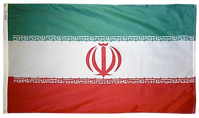 Annin Flagmakers Iran Flag, 3 x 5 ft., Nylon (193785)