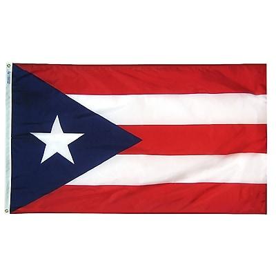 Annin Flagmakers Territory: Puerto Rico Flag, 4 x 6 ft., Nylon (146770)