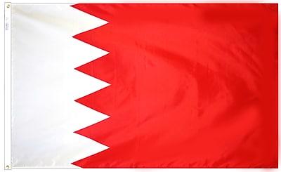 Annin Flagmakers Bahrain Flag, 4 x 6 ft., Nylon (190521)