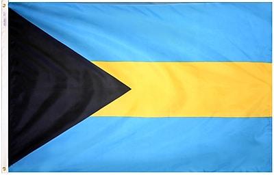 Annin Flagmakers Bahamas Flag, 4 x 6 ft., Nylon (190492)