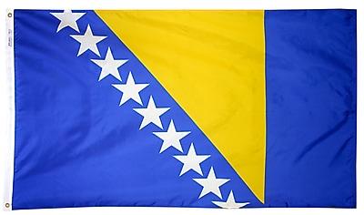 Annin Flagmakers Bosnia-Herzegovina Flag, 4 x 6 ft., Nylon (221712)