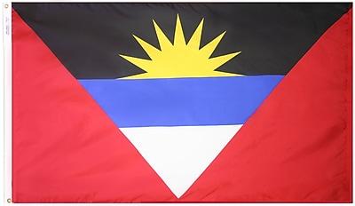 Annin Flagmakers Antigua & Barbuda Flag, 4 x 6 ft., Nylon (190351)