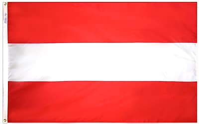 Annin Flagmakers Austria Flag, 4 x 6 ft., Nylon (190470)