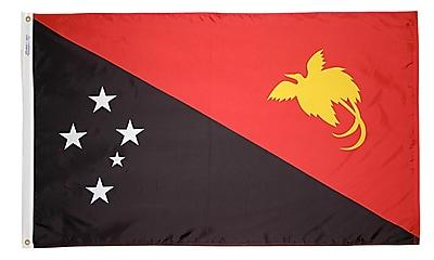 Annin Flagmakers Papua-New-Guinea Flag, 4 x 6 ft., Nylon (196648)
