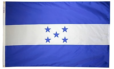Annin Flagmakers Honduras Flag, 3 x 5 ft., Nylon (193429)