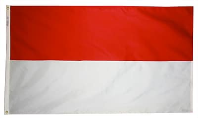 Annin Flagmakers Indonesia Flag, 4 x 6 ft., Nylon (193716)