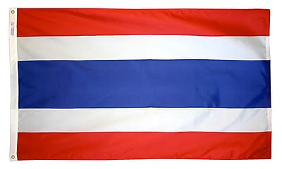 Annin Flagmakers Thailand Flag, 3 x 5 ft., Nylon (198372)