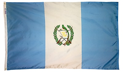 Annin Flagmakers Guatemala Flag, 4 x 6 ft., Nylon (193165)