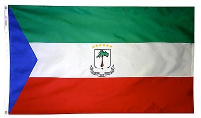 Annin Flagmakers Eq. Guinea Flag, 4 x 6 ft., Nylon (192475)