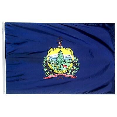 Annin Flagmakers Vermont State Flag, 3 x 5 ft., Nylon (145460)