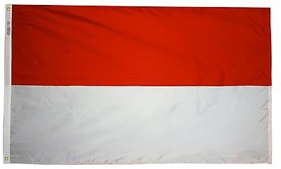 Annin Flagmakers Monaco Flag, 3 x 5 ft., Nylon (221413)