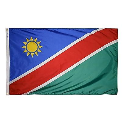 Annin Flagmakers Namibia Flag, 3 x 5 ft., Nylon (221443)