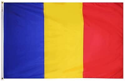 Annin Flagmakers Romania Flag, 3 x 5 ft., Nylon (196920)