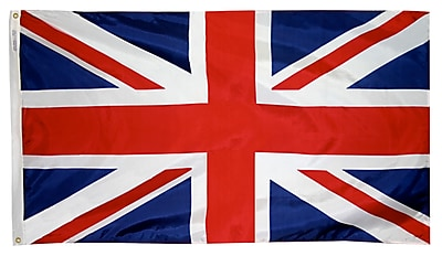 Annin Flagmakers United Kingdom Flag, 4 x 6 ft., Nylon (198896)