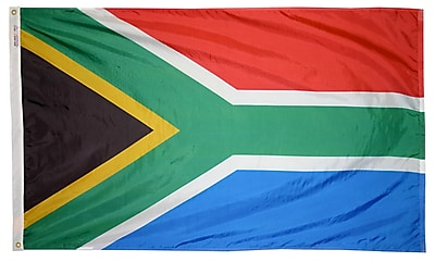 Annin Flagmakers South Africa Flag, 3 x 5 ft., Nylon (197565)