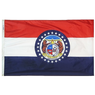 Annin Flagmakers Missouri State Flag, 4 x 6 ft., Nylon (142970)
