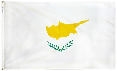 Annin Flagmakers Cyprus Flag, 4 x 6 ft., Nylon (191978)