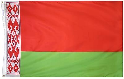 Annin Flagmakers Belarus Flag, 4 x 6 ft., Nylon (190627)