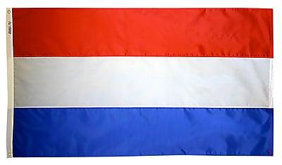 Annin Flagmakers Netherlands Flag, 3 x 5 ft., Nylon (195990)