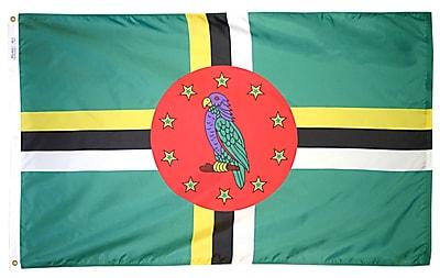Annin Flagmakers Dominica Flag, 4 x 6 ft., Nylon (192236)