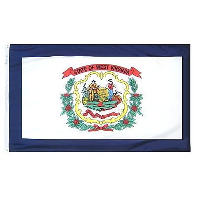 Annin Flagmakers West Virginia State Flag, 3 x 5 ft., Nylon (145860)