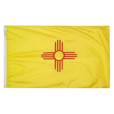 Annin Flagmakers New Mexico State Flag, 4 x 6 ft., Nylon (143770)