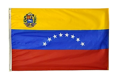 Annin Flagmakers Venezuela Flag, 4 x 6 ft., Nylon (199280)