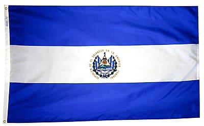 Annin Flagmakers El Salvador Flag, 4 x 6 ft., Nylon (192404)