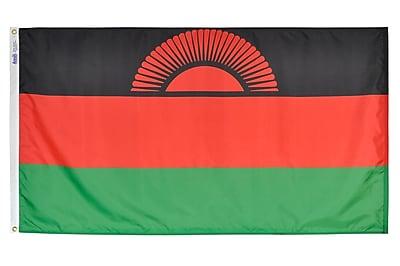 Annin Flagmakers Malawi Flag, 4 x 6 ft., Nylon (195262)