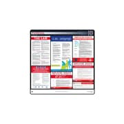 ComplianceSigns® 2018 Federal Labor Law Poster (with Blue Header)