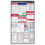 ComplianceSigns® 2018 Pennsylvania Labor Law Poster (with Blue Header)