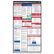 ComplianceSigns® 2018 South Carolina Labor Law Poster (with Blue Header)